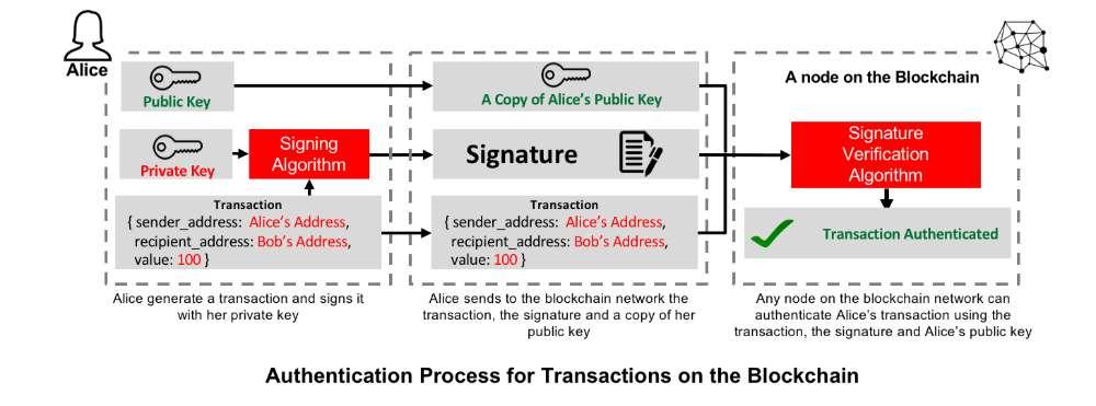 Blockchain Authentication Process