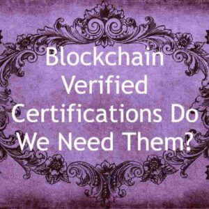 Blockchain Verified Cert feature image