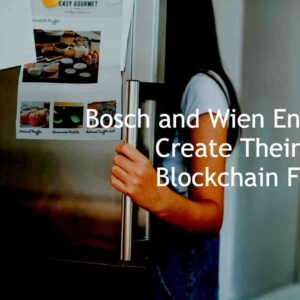 Blockchain fridge by Wen Energie & Bosch